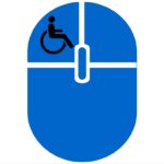 Accessible Websites mouse with accessibility icon